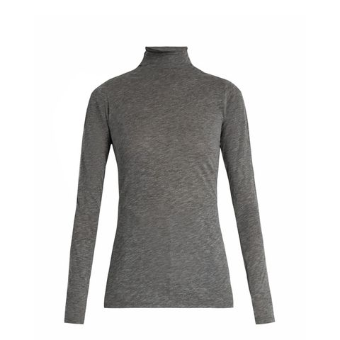 Talisia High-Neck Long-Sleeved T-Shirt