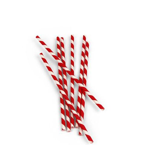 Box of 144 Biodegradable Paper Straws