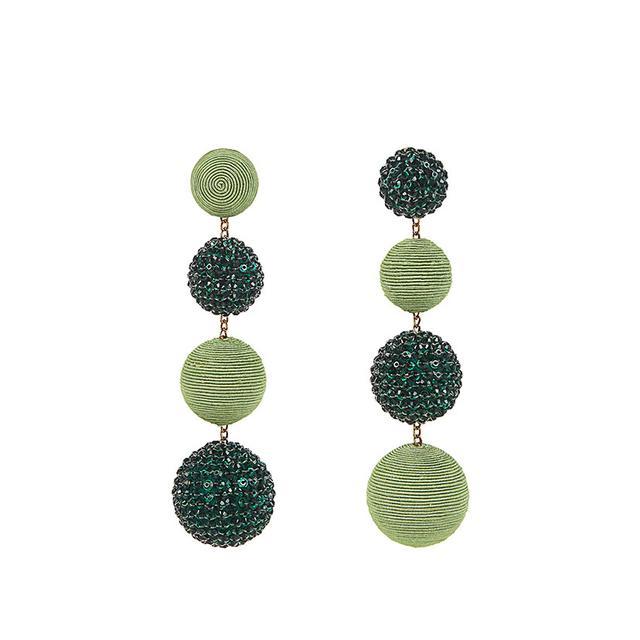 Rebecca de Ravenel Les Bonbons Earrings in Gin-Gin