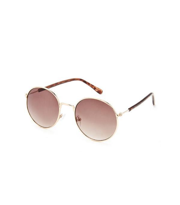 Forever 21 Round Gradient Sunglasses