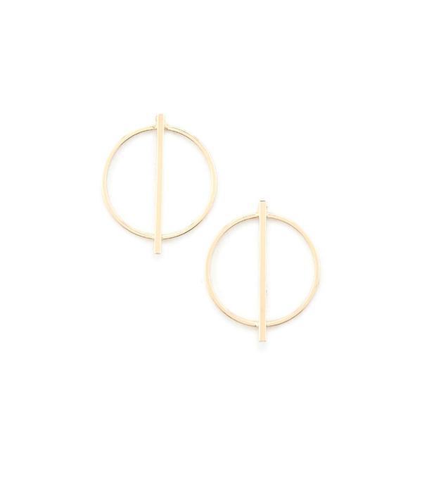 Forever 21 Bar Pendant Stud Earrings