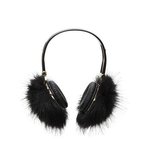 Faux Fur Headphones