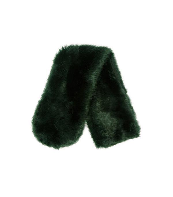 Forever 21 Faux Fur Oblong Scarf