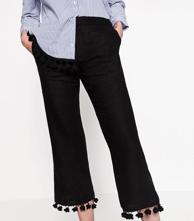 Zara Linen Trouser