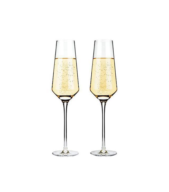 TRNK Crystal Champagne Flutes