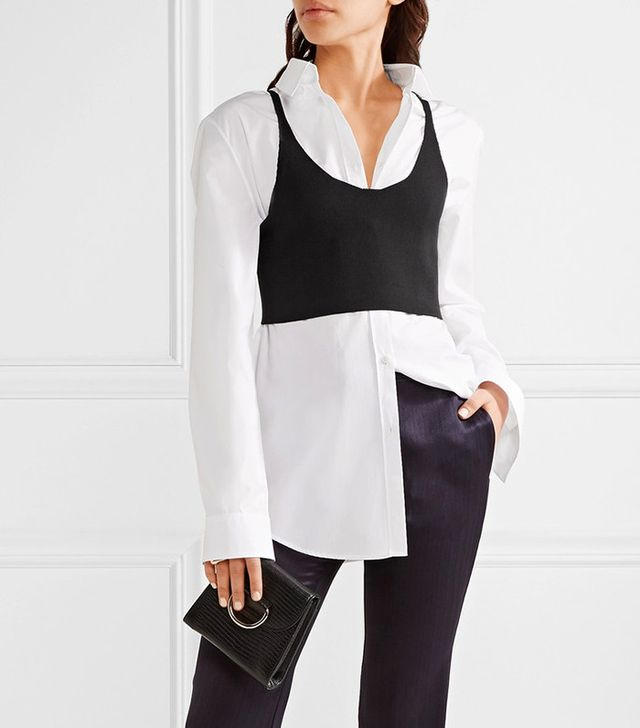 Tibi Stretch-Knit Bra Top