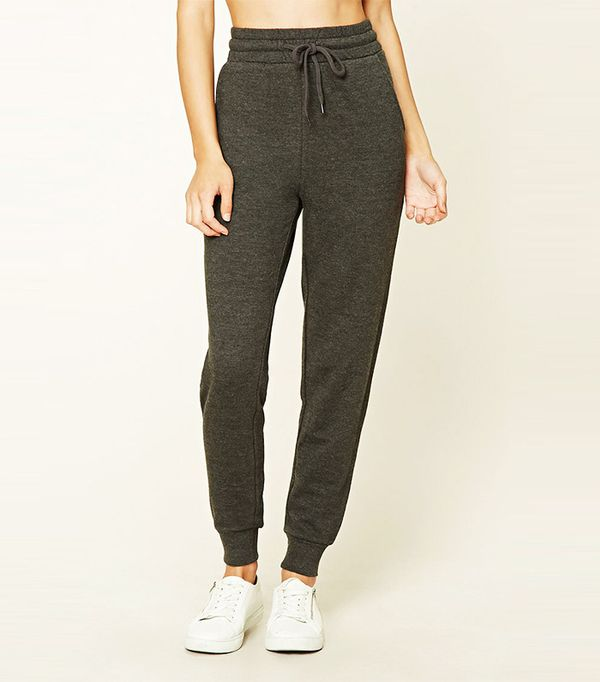 Forever 21 French Terry Knit Sweatpants