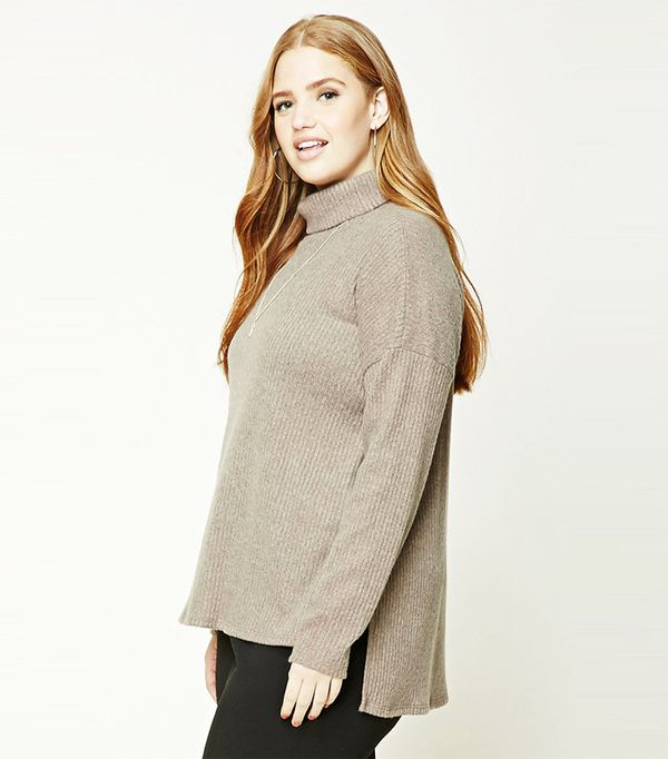 Forever 21 Plus Size Brushed Tunic