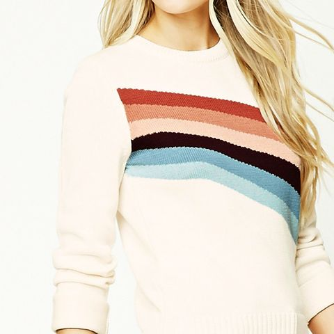 Colorblock Striped Sweater