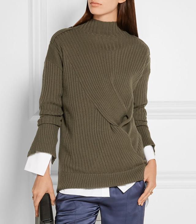 Rag & Bone Dale Twist-Front Sweater
