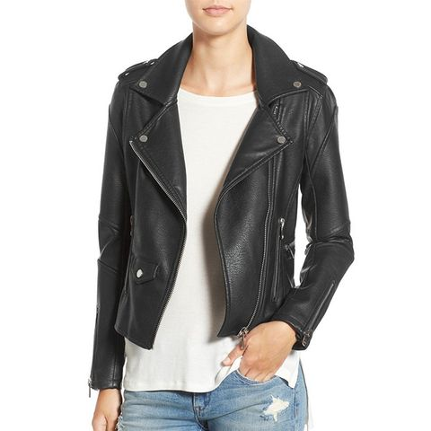 Easy Rider Faux Leather Moto Jacket