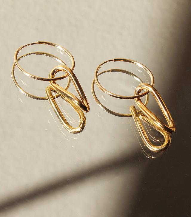 Singulier Gold Hoop Earrings