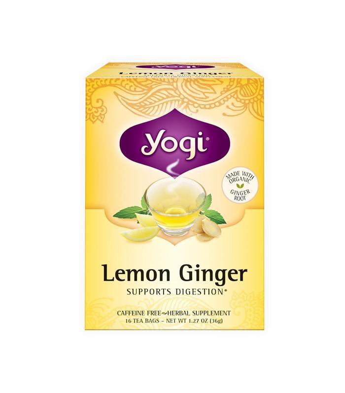 Lemon Ginger Tea by Yogi