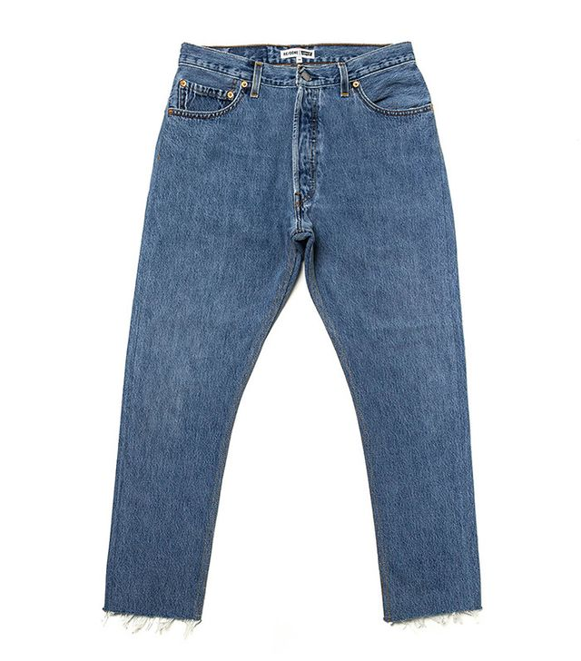 Re/Done | Levi's High Rise Ankle Crop