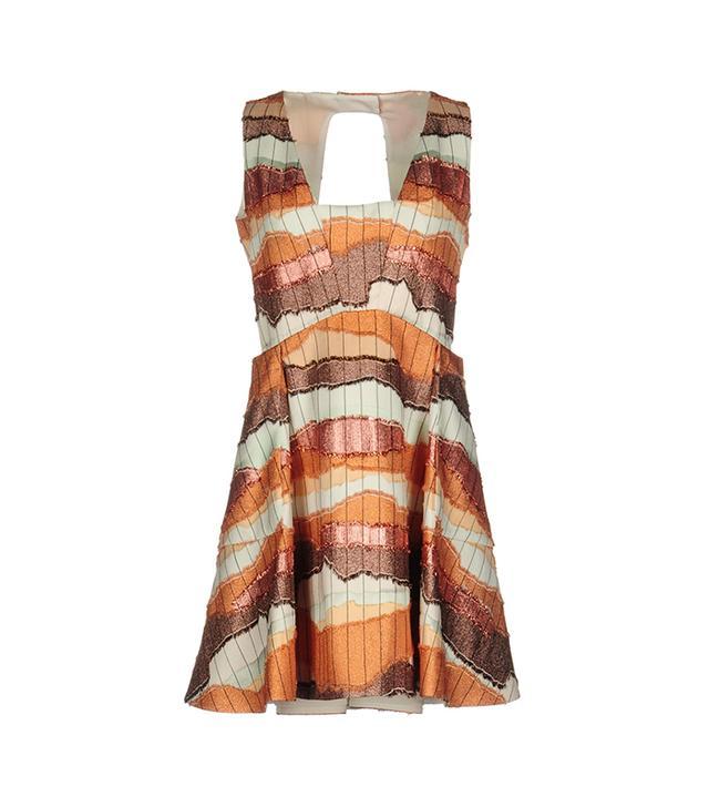 dior silk dress