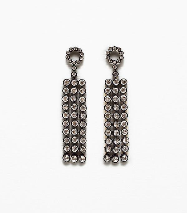 Zara Long Shiny Earrings