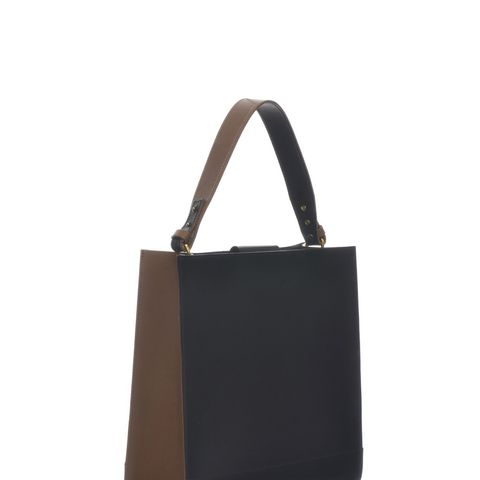Kai Tote in Black & Tan