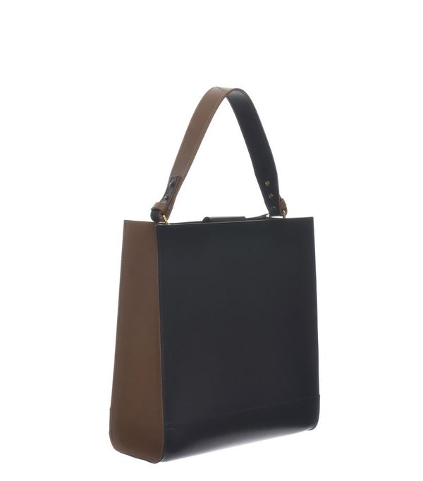 Danielle Foster Kai Tote in Black & Tan