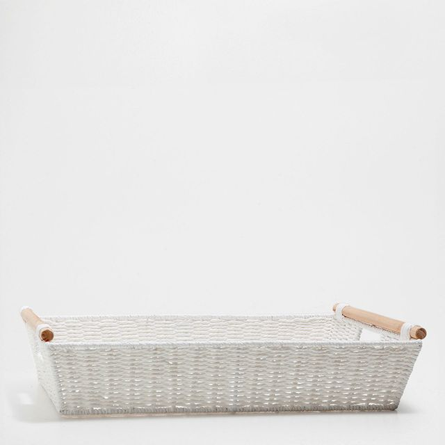 Zara Home Clean Laundry Tray With Handles
