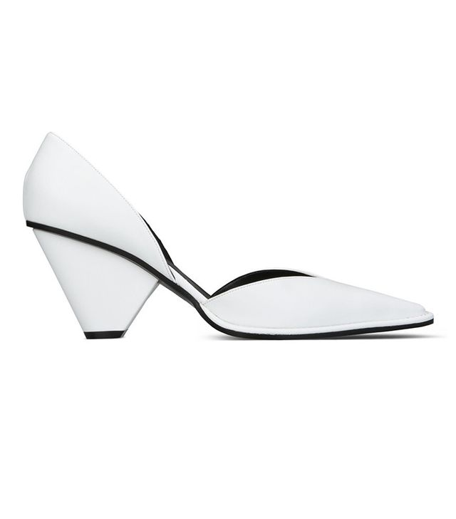 Stella McCartney White Pointed Shoes
