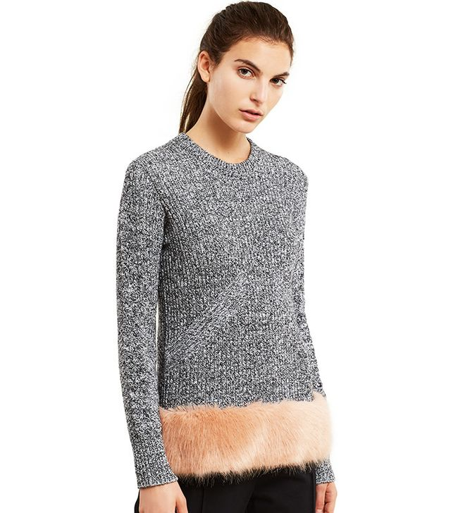 Opening Ceremony Faux Fur Pullover