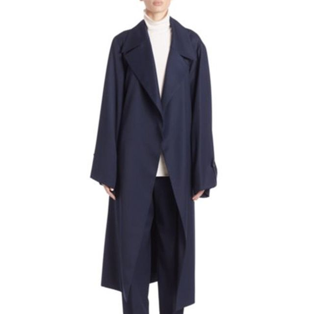 The Row Swells Wool Trench Coat