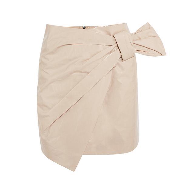 Isabel Marant Anders Wrap Mini Skirt