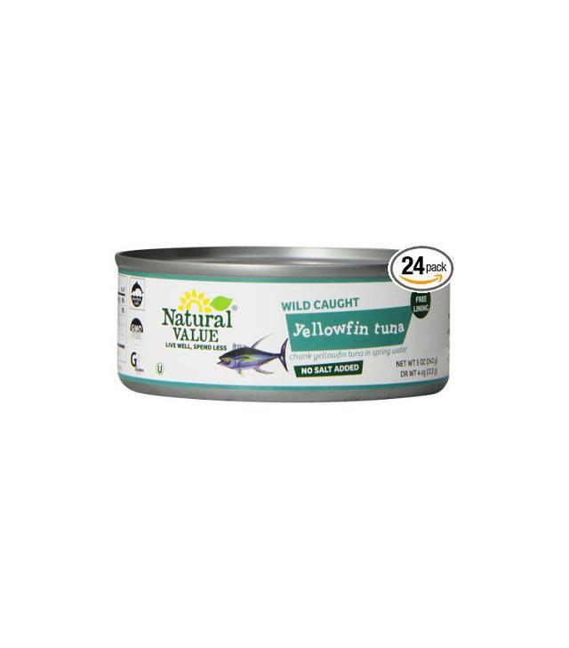 Natural Value Yellowfin Tuna 24-pack