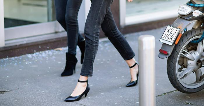 Wide Leg Black Jeans