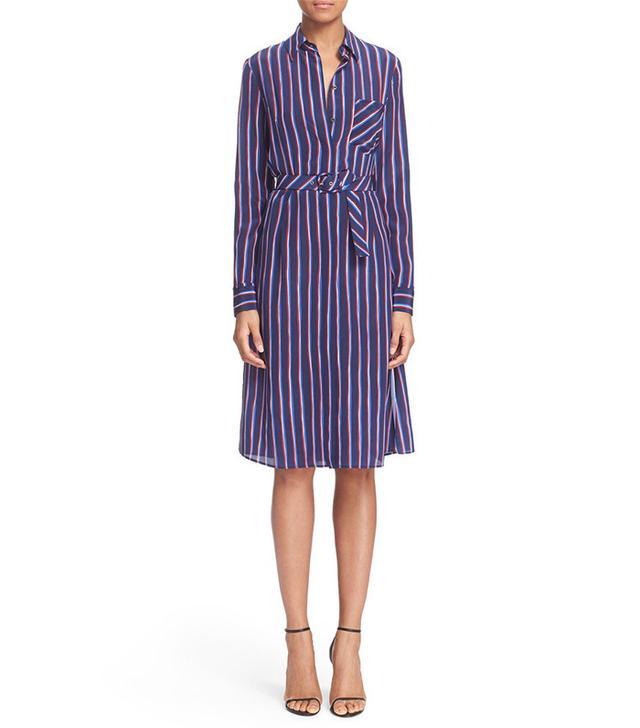 Altuzarra Marian Stripe Silk Shirt Dress