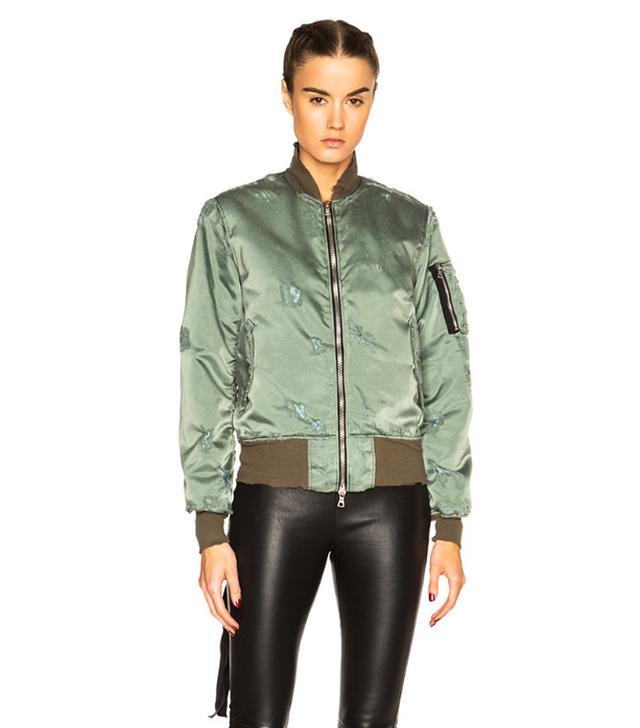 green army bomber jacket