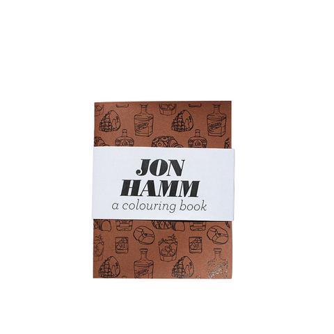 Jon Hamm Coloring Book
