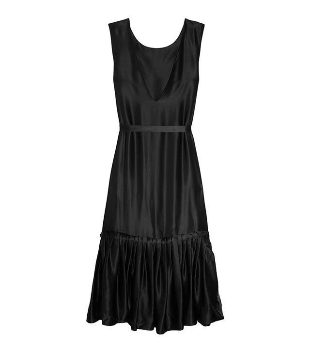 Maggie Marilyn Wear It Your Way Ruffled Silk-Satin Dress