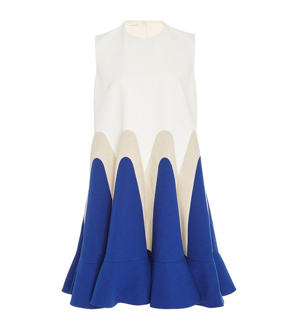 Delpozo Sleeveless Shift Dress