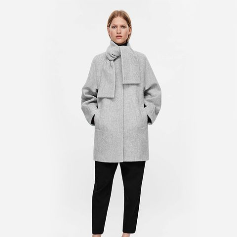 Cocoon Shaped Coat