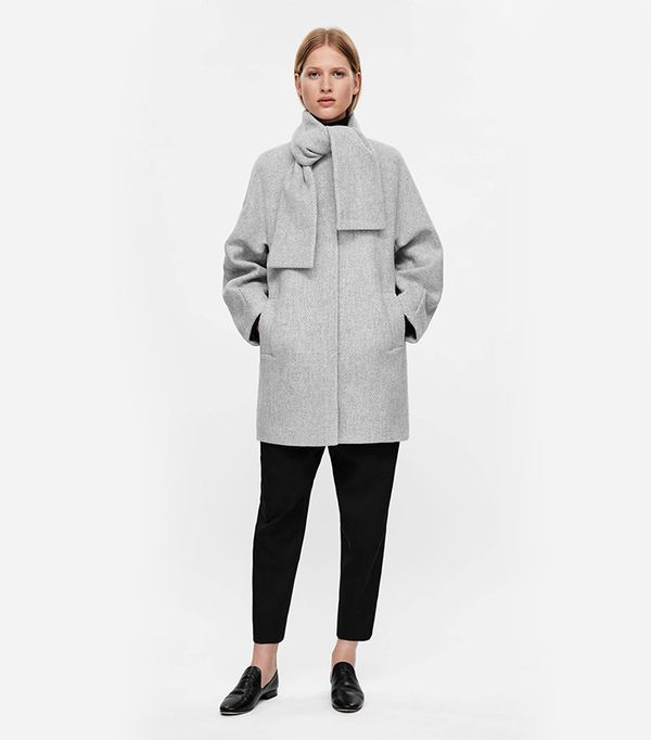 COS Cocoon Shaped Coat