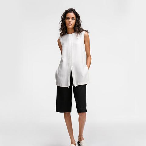 Layered Short Jumpsuit