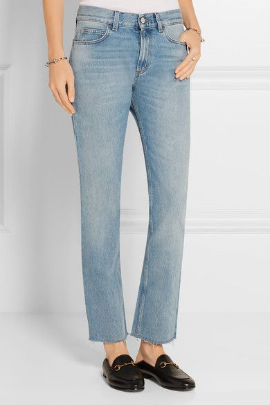 Gucci Low-Rise Bootcut Jeans