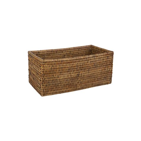 Dark Rattan Basket