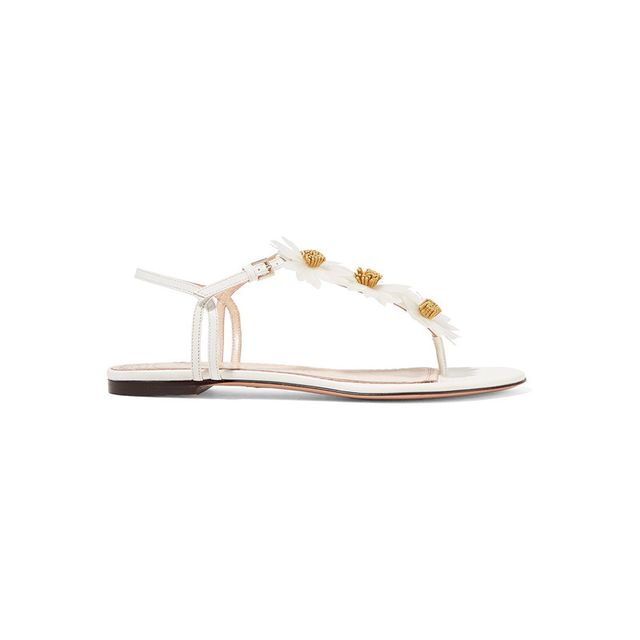 Charlotte Olympia Posey Applique Sandals