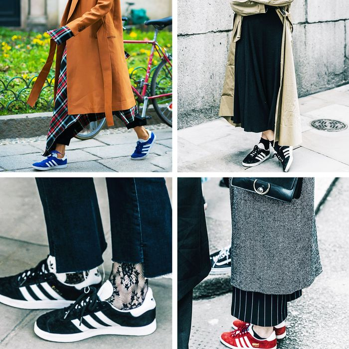 Sneakers trend 2017: Adidas Gazelles