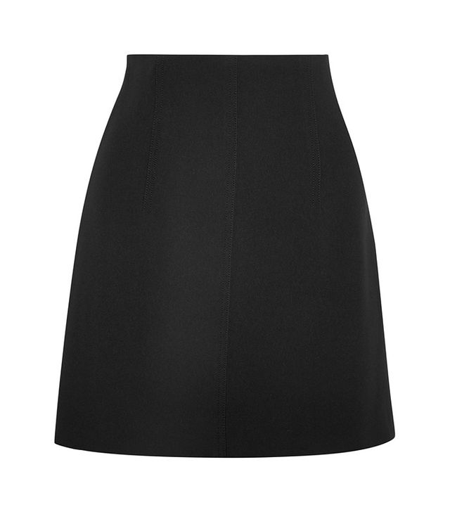 Chloe Crepe Mini Skirt