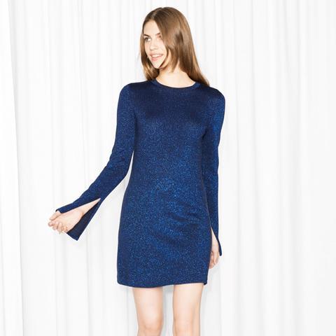 Glitter Knit Dress