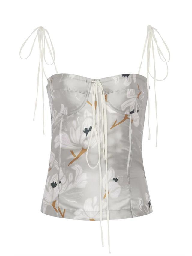 Brock Collection Tabitha Escapade Silk Blend Top