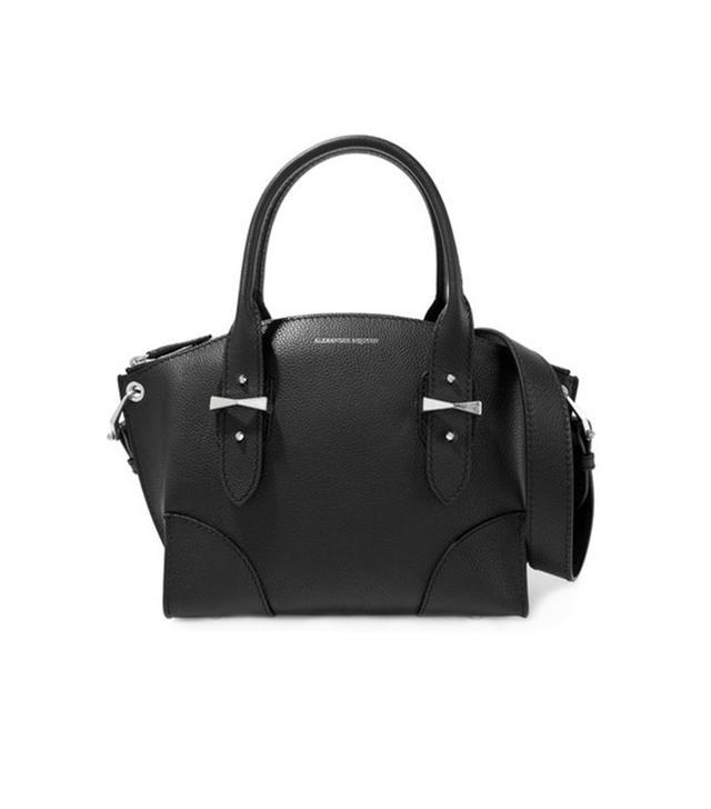 Alexander McQueen Legend Small Textured-Leather Shoulder Bag