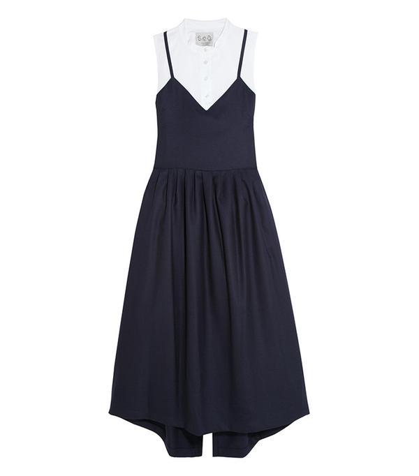 Sea Cotton-Poplin Dress