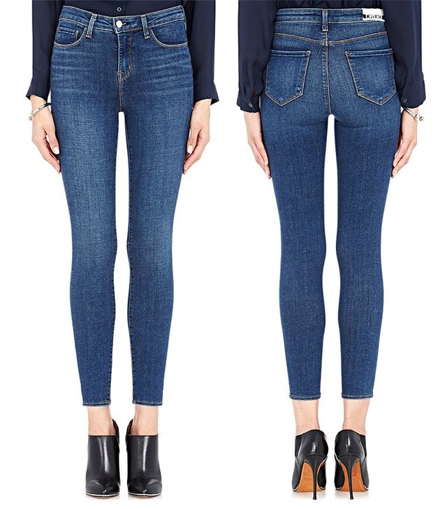 L'Agence The Margot Cropped Mid-Rise Skinny Jean