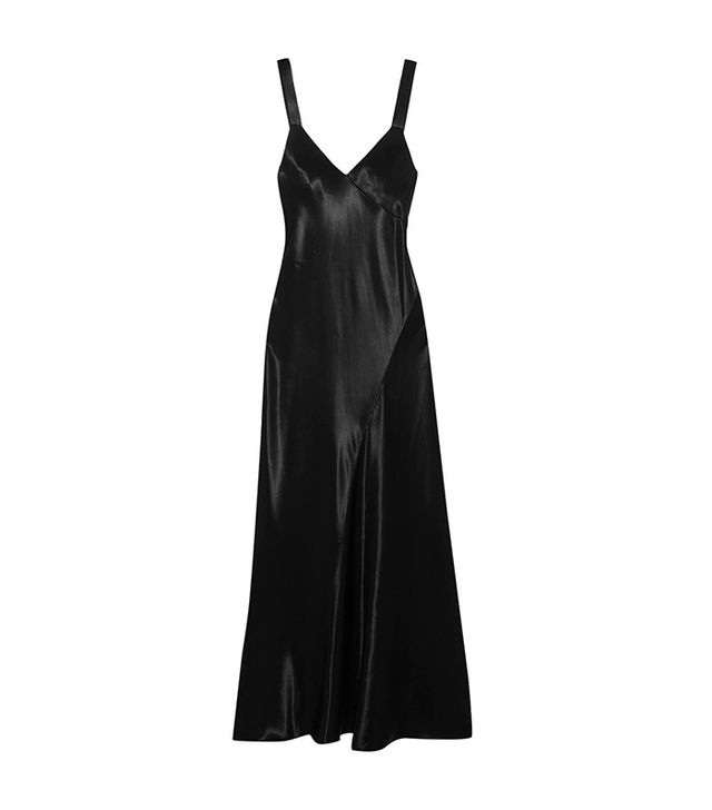 Tibi Asymmetric Satin Dress