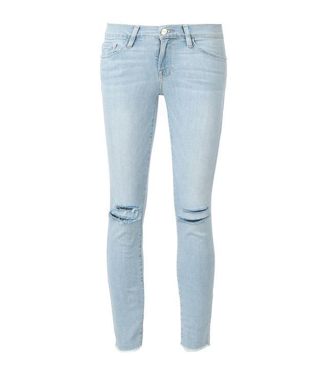 Frame Denim Jeanne Crop Skinny Jeans