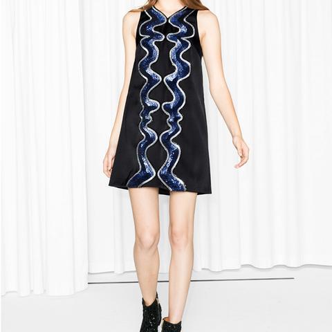 Swirl of Sequins Dress